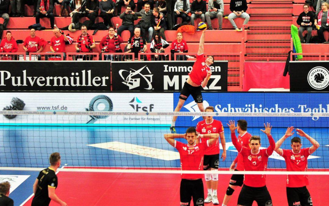 tsf unterstützt den TV Rottenburg in der 1. Bundesliga